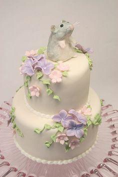 2 tier birthday cake by cakejournal, via Flickr