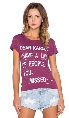 Dear Karma tee