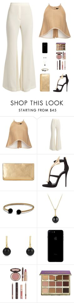 """Untitled #4989"" by mdmsb on Polyvore featuring E L L E R Y, L.K.Bennett, Giuseppe Zanotti, David Yurman, Charlotte Tilbury and tarte"