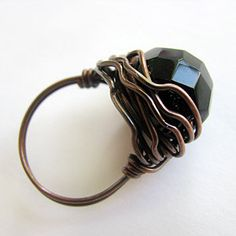 Around Wire: DIY Tutorial: Wrapped Ring