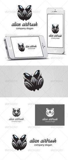 Realistic Graphic DOWNLOAD (.ai, .psd) :: http://jquery-css.de/pinterest-itmid-1006108121i.html ... Alien Airbrush Logo ...  airbrush, alien, app, application, bike, black, car, car paint, colour, colouring, cool, creative, energy, graffiti, logo, modern, motorbike, paint, painting, safe, space, speed, style, template  ... Realistic Photo Graphic Print Obejct Business Web Elements Illustration Design Templates ... DOWNLOAD :: http://jquery-css.de/pinterest-itmid-1006108121i.html