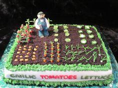 Garden cake!
