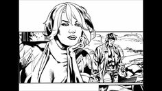 Digital Inks on Yanick Paquette's X-Men page