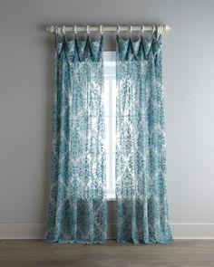 Amazon Com Hlc Me Piece Sheer Curtain Grommet Panels Aqua