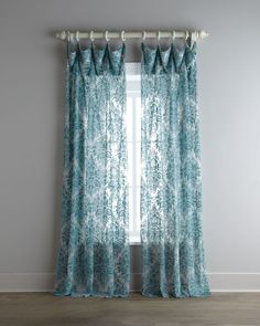 """Dian Austin Couture Home """"Vintage"""" Sheer Curtains - Neiman Marcus"""