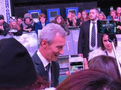 Jed Brophy - Nori (made by Angela Bruininks), at The Hobbit- Battle of Five Armies World Premiere