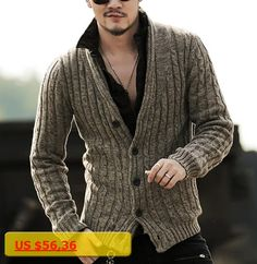 Mens sweaters male V neck winter Cardigan men Knitwear Sweater Slim Casual coat brand cardigan masculino 2016 fashion autumn