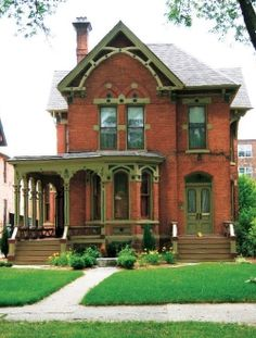 Gothic Revival in Detroit's West Canfield Historic District