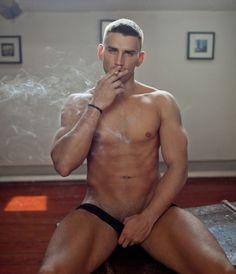 hot boys smoking cigs