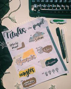 Bullet Journal School, Bullet Journal Headers, Journal Fonts, Bullet Journal Notes, Bullet Journal Aesthetic, Bullet Journal Writing, Bullet Journal Ideas Pages, Bullet Journal Inspiration, Cute Notes