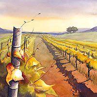 Watercolor landscape paintings - landscape prints - landscape art - Maud Durland