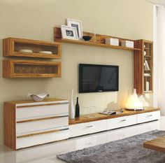New tv unit design new unit design wall units latest design of cabinet latest wall unit Tv Cabinet Design, Tv Wall Design, Lcd Unit Design, Latest Wall Unit Designs, Travel Outfit Summer Airport, Tv Stand With Storage, Tv Storage Unit, Storage Baskets, Modern Tv Wall Units