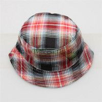 Cheap Wholesale-wholesale terry towel bucket hat,plaid bucket hat,custom printed bucket hats