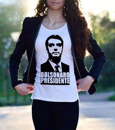 352e408eaf85e Camisa Bolsonaro Feminina. Camiseta Bolsonaro Femina. Baby Look Bolsonaro.  Babylook Bolsonaro. Baby Look Bolsonaro Presidente.