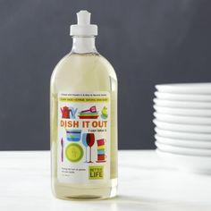 Better Life™ Dish It Out™ Natural Dish Soap  | Crate and Barrel