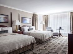 Canada Family Friendly Hotels Victoria Magnolia Hotel Spa double beds