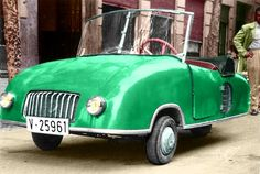 Cimera, 1950's, Valencia.Classic Car Art&Design @classic_car_art #ClassicCarArtDesign