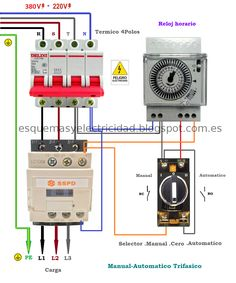 Star Delta (YΔ) Starter For Automatic 3Phase Motor