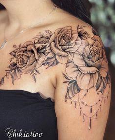 The Most Beautiful Flower Tattoo Designs – – Mandala Tattoo – Top Fashion Tattoos Rose Tattoos, Sexy Tattoos, Body Art Tattoos, Sleeve Tattoos, Tatoos, Small Tattoos, Beautiful Flower Tattoos, Pretty Tattoos, Beautiful Tattoos For Women
