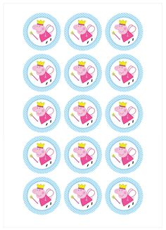 Modelo nº Peppa Pig - Tienda Online Peppa Pig Birthday Invitations, Peppa Pig Birthday Cake, Frozen Invitations, Birthday Favors, 4th Birthday Parties, Peppa Pig Images, Peppa Pig Stickers, Peppa Pig Printables, Aniversario Peppa Pig