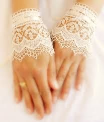 wedding-gloves-lace-cuff-bridal-cuff-ivory-cuff-lace-cuffs-lace-wedding-Elegant Design Of Bridal Gloves And Tips On Wearing It In Your Wedding Lace Cuffs, Lace Gloves, Fingerless Gloves, Bridal Cuff, Bridal Jewelry, Wedding Gloves, Lace Wedding, Dream Wedding, Crochet Wedding