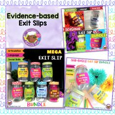 Tools and Tips to use Exit Slips in Speech Therapy. Evidence-Based!