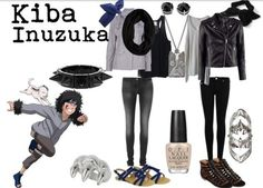 Kiba and Akamaru inspired outfits