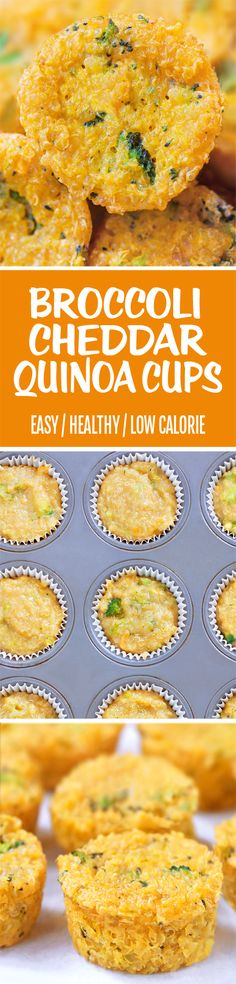 Addictive & cheesy broccoli quinoa bites that are a super healthy snack for both kids and adults.