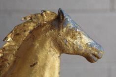 gold horse