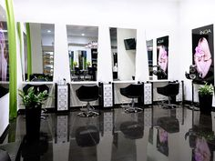 Marvelous Rumyantsevau0027s Beauty Salon Interior Design And Visualization In Odessa.