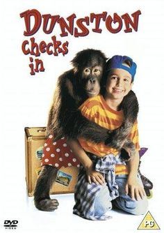 Available in: DVD.Ken Kwapis' family-oriented monkey movie Dunston Checks In comes to DVD with a pair of transfers. The widescreen anamorphic 90s Kids Movies, Childhood Movies, My Childhood Memories, Disney Movies, Good Movies, Sweet Memories, Family Movie Night, Family Movies, Internet Movies