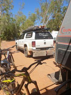 Camped @ Mataranka Homestead NT, Australia - follow us on our adventures around Australia
