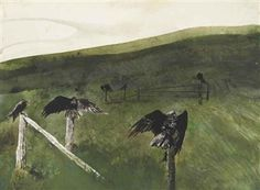 Artworks of Andrew Wyeth (American, 1917 - 2009)