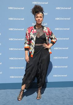 Alicia Keys has opened up about her insecurities