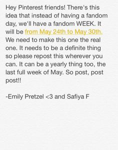 We need to do this so REPOST REPOST! This is the week for you to broadcast your geekery and to show the world that you are in these awesome Fandoms! Pokemon, The Thundermans, Otaku, Kamigami No Asobi, Fangirl Problems, Kaichou Wa Maid Sama, Levi X Eren, Fandoms Unite, Heroes Of Olympus