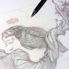 One final piece of art in progress to get the Wicked Kingdom deck ready for the…