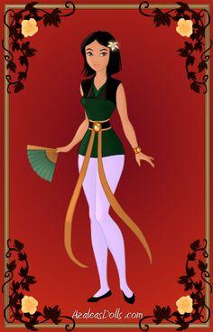 Super Heroine Mulan by Arimus79.deviantart.com on @deviantART