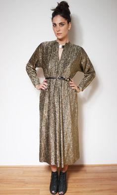 Vintage Halston Maxi Dress