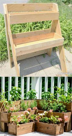 28 Amazing DIY Raised Bed Gardens - A Piece Of Rainbow