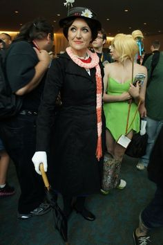 Mary Poppins at ComicCon