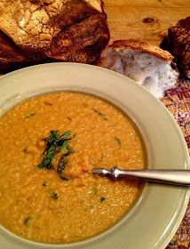 *Rook No. 17: recipes, crafts & whimsies for spreading joy*: Feels like Fall: Red Lentil Carrot Soup Recipe