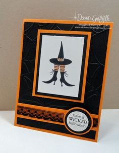 Stampin up Wicked Cool Halloween