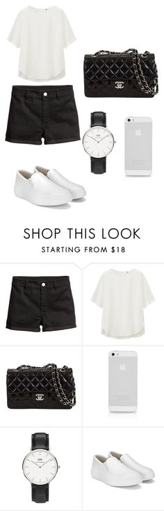 """""""Set 15"""" by silvada-comi ❤ liked on Polyvore featuring H&M, Uniqlo and Daniel Wellington"""