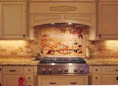 Tile Backsplash Designs For Kitchens tile backsplash ideas for behind the range: kitchen backsplash