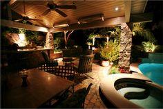 La iluminación adecuada en tu exterior puede crear ambientes inimaginables.