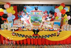 Mickey Mouse Clubhouse Birthday Party Ideas | Photo 14 of 23 | Catch My Party