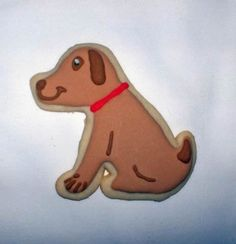 Dog - Puppy Cookie:  cute idea for decorating
