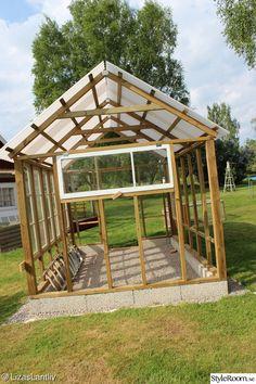 How to build a simple everyday greenhouse jardinage serre potager serre jardin - Baraque de jardin ...