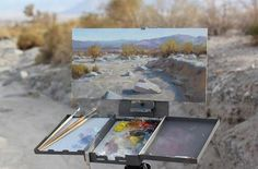 Bryan Mark Taylor Plein Air piece from Borrego Springs