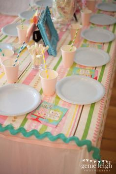 Pastel Rainbow Party via Kara's Party Ideas karaspartyideas.com #pastel #rainbow #birthday #party #ideas